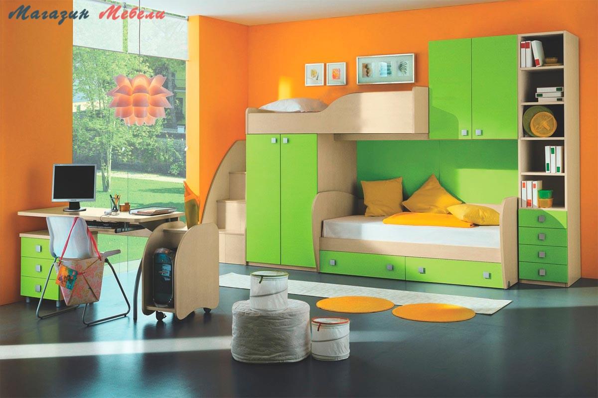 Детская мебель ЮНГА-1