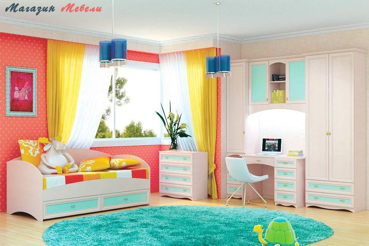 Детская мебель ЖАСМИН-5