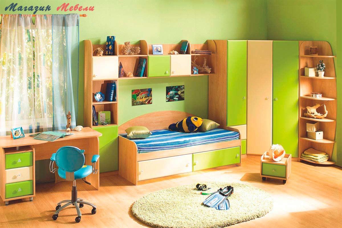 Детская мебель АКВАРЕЛЬ-1